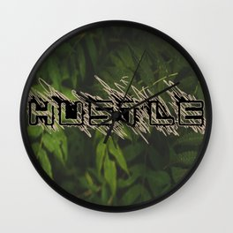 Hustle Nature Wall Clock