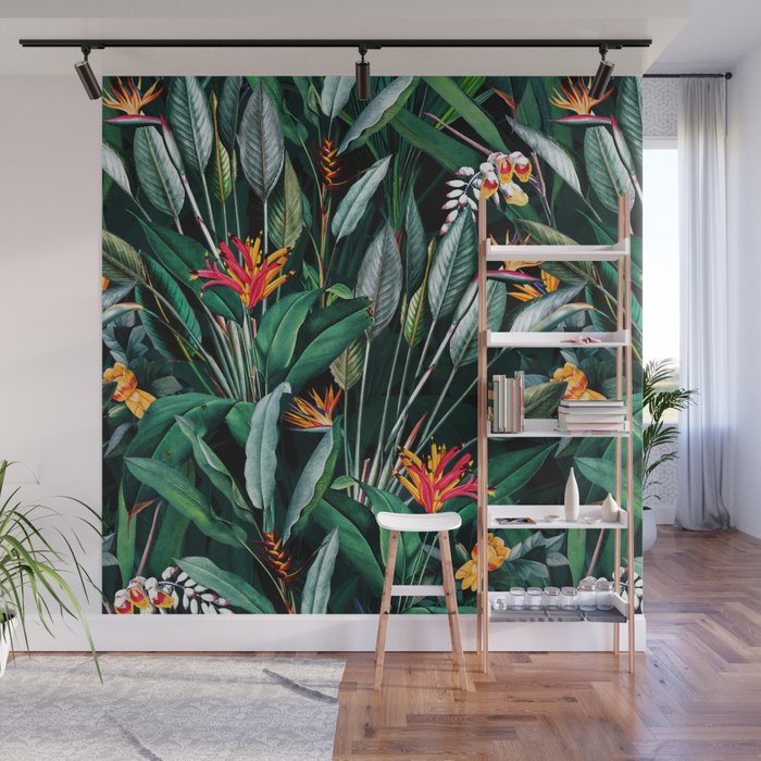 Midnight Garden V Wall Mural