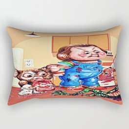 Death Of A Gremblin Rectangular Pillow
