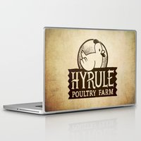 hyrule Laptop & iPad Skins featuring Hyrule Poultry Farms by Drake Sauer