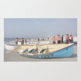 Atlantic City Lifeboats Rug