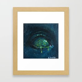 When the Universe Cries Framed Art Print