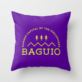 Philippine Series - Baguio Throw Pillow