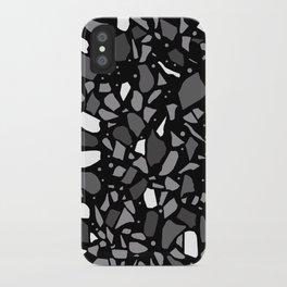 Terrazzo Spot Black 2 iPhone Case