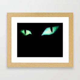 Green-eyed Monster Framed Art Print