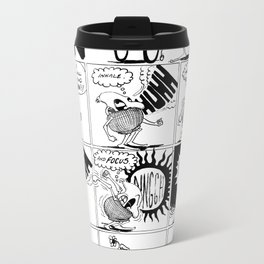 Angreeeeeee Metal Travel Mug