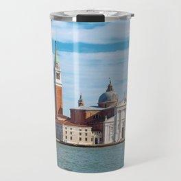 The Venetian Island of San Giorgio from the sea Travel Mug