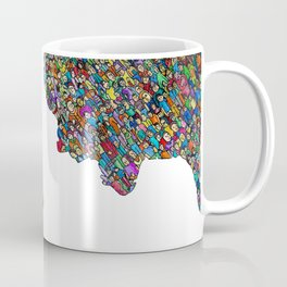 Multiple Personalities Coffee Mug