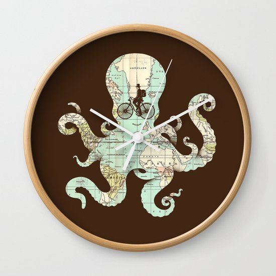 All Around The World Wall Clock