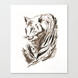 Tiger, Tiger Canvas Print