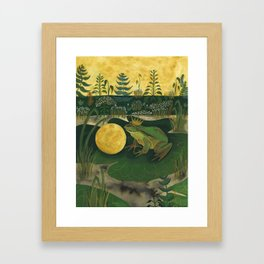 The Frog Prince Framed Art Print