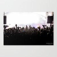 concert Canvas Prints featuring Concert by Bridget Craig