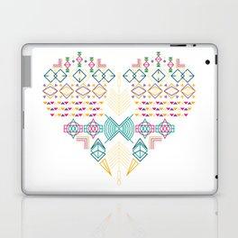 Aztec Heart Laptop & iPad Skin