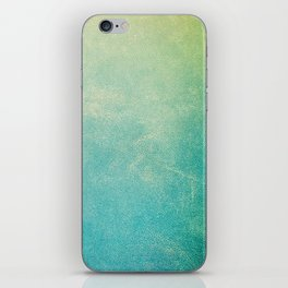 Jade Ombre iPhone Skin
