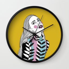 Too cool for school Wall Clock