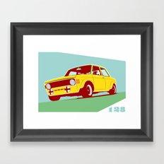 Fiat 128 Framed Art Print