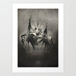 Dust Devil  Art Print