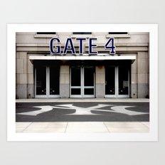 Gate 4 Art Print