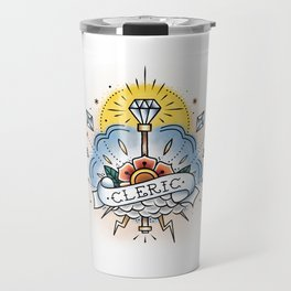 Cleric - Vintage D&D Tattoo Travel Mug