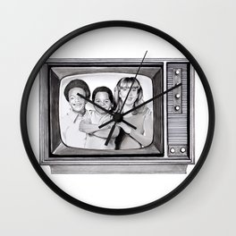 Arnold & willy Wall Clock
