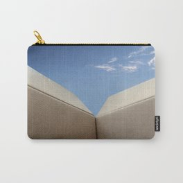 Think Outside the Box Looking out at Blue Sky Carry-All Pouch