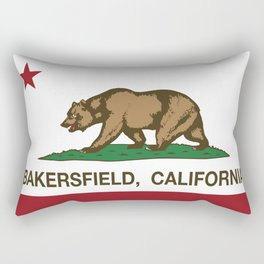Fremont California Republic Flag Rectangular Pillow