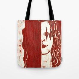 Brandon Lee Red Tote Bag