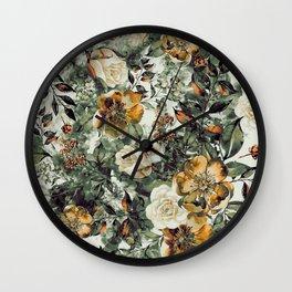 RPE FLORAL Wall Clock