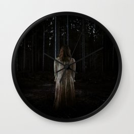 Into the darkness Wall Clock