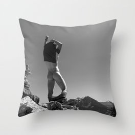 Mountain Freedom  Throw Pillow