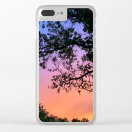 Philly Sunset Clear iPhone Case