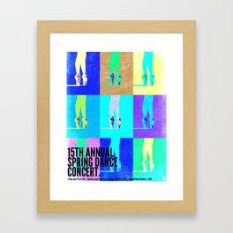 Dance Concert 2011 Framed Art Print