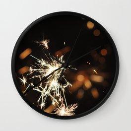 Sparks Wall Clock