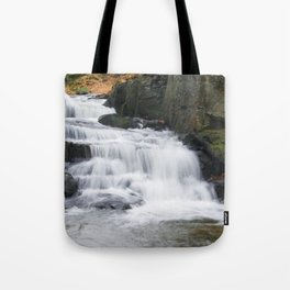 Lumsdale Waterfall Tote Bag