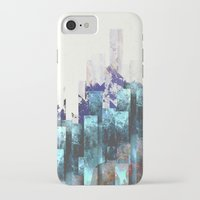 cities iPhone & iPod Cases featuring Cold cities by HappyMelvin