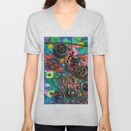 Chase the Gears Unisex V-Neck