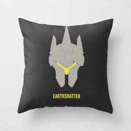 Earthshatter Throw Pillow