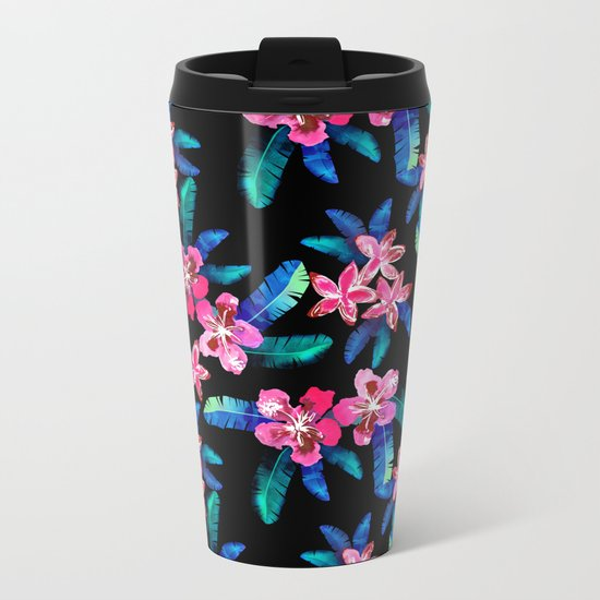 Tahitian Garden {B} Metal Travel Mug