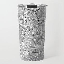 Santiago White Map Travel Mug