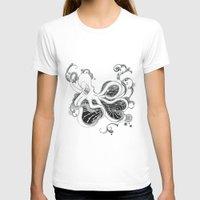 kraken T-shirts featuring 'Kraken' by emily sams