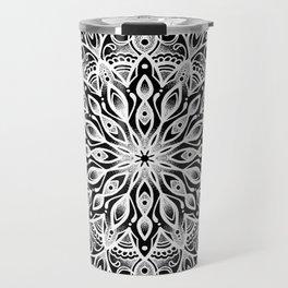 black monika's mandala Travel Mug