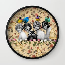 In the Aviary Wall Clock