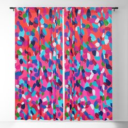 Pink Dreams Abstract Painting Blackout Curtain
