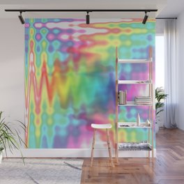 I Bleed Rainbows and Glitter Wall Mural