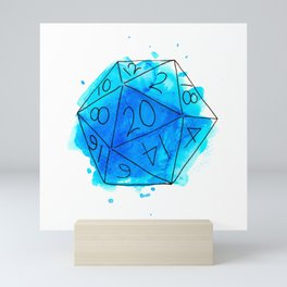 D20 Mini Art Print