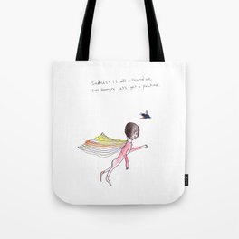 SADNESS POUTINE Tote Bag