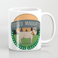 totes Mugs featuring Totes Magoats by LaurenPyles