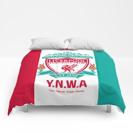 Liverpool Flat Design Comforters