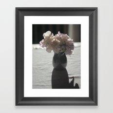 Little Jug of Flowers Framed Art Print