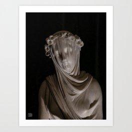 Statue. Art Print